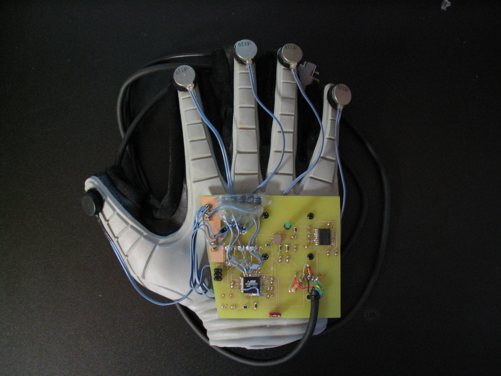 Haptic Click Feel The Code On Your Skin